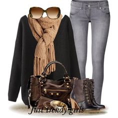 outfits with infinity scarves Mix and match trendy casual outfits  http://www.justtrendygirls.com/mix-and-match-trendy-casual-outfits/