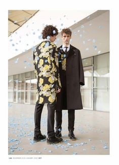 Piero Mendez y Laurie Harding para OUT Magazine Diciembre 2015 | Male Fashion Trends