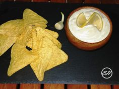Sos aioli light – sos de usturoi – Extravagance House Aioli, Homemade Food, Ketchup, Italian Recipes, Coconut, Fruit