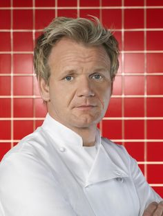 My favorite celebrity chef, Chef Gordon Ramsay