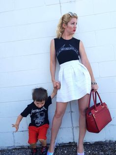 mommy and son metall
