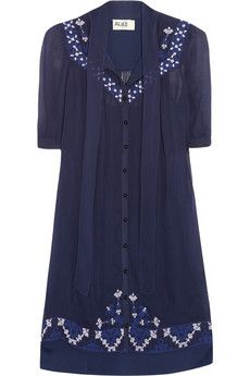 ALICE by Temperley  Mini Beatrice embroidered georgette dress- or the Vivian dress!