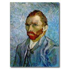 #self portrait by #vincent #van gogh