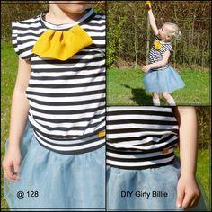 128: DIY girly billie # 3