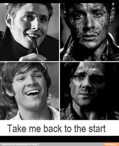 Oh my God yes please let's go back to the start. Start over because this show. . .it's just so bad now