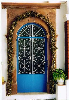 Blue Door - Chios, Greece