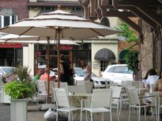 Outdoor Cafe's l Tenafly Real Estate l Anat Eisenberg