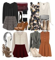 For those preppy days Preppy Outfits, Dress Outfits, Cute Outfits, Fashion Outfits, Womens Fashion, Fashion Clothes, Prom Dresses, Fashion Tips, Lydia Martin Style