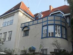 Josef Hoffmann, Villa Moser-Moll, 1900 - 01, Steinfeldgasse 8, Vienna, Villa for Koloman Moser and Carl Moll