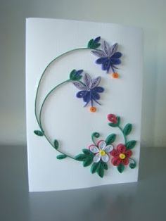 Quilling Design For Beginners Paper Quilling Cards, Paper Quilling Flowers, Paper Quilling Jewelry, Neli Quilling, Origami And Quilling, Quilling Craft, Quilling Ideas, Quilling Flower Designs, Quilling Patterns