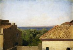 View on the sea by Henryk Siemiradzki, fourth quarter of the 19th century (PD-art/old), Muzeum Narodowe w Krakowie (MNK)