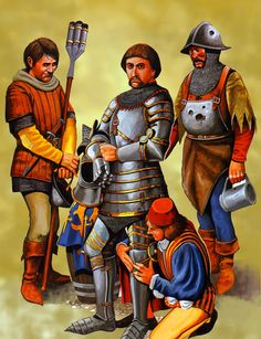 Edward Duke of Bar and his troops at Agincourt