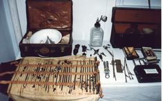 antique Embalming kit