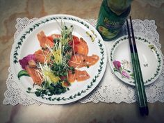 One day's salmon salad ! :)