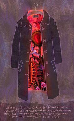 """""""Grandmother's coat"""" Alice Wellinger"""