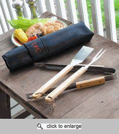 Groomsman Gift - Personalized Backyard BBQ Set