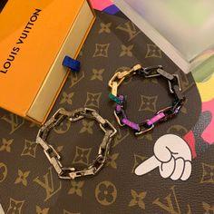 Louis Vuitton bracelet - 190520 - 1 - Designerbrands Louis Vuitton Bracelet, Louis Vuitton Jewelry, Designer Clothing Websites, Brass Metal, New Product, Fashion Jewelry, Personalized Items, Bracelets, Face