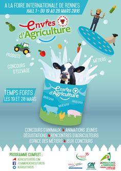 Affiche Pour Lu0027événement Agricole