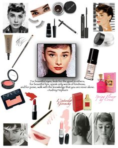 Audrey Hepburn Makeup Tips