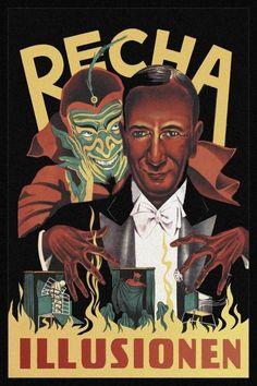 Unknown - Magicians: Recha Illusionen - art prints and posters
