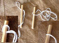 Peg Loom Threading USING YOUR PEG LOOM via Dales Looms