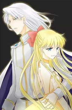 Princess Venus and Kunzite
