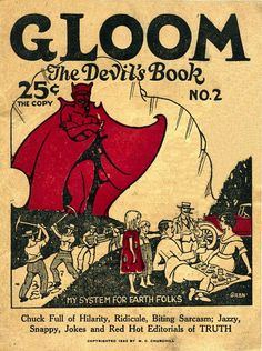 Gloom, The Devil's Book No. 2 - a humorous & satirical magazine of the Twenties - 1922