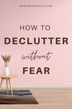 Are you worried you'll declutter an item you'll want later? You're not alone. Indeed, this fear halts aspiring minimalists in their tracks before they even start. Declutter without fear! In this post I lead you through your home room-by-room   outline 30 items I'm certain you'll never, ever miss so that you, too, can enjoy minimalist simplicity.