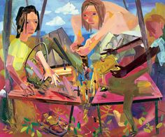Dana Schutz http://blog.ocad.ca/wordpress/gart1b21-fw2011-02/files/2012/02/reformers-dana-schutz-oil-on-canvas-20041.jpg