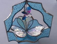 3D Stained Glass Suncatcher Flower and by BayCreationsbyWendy