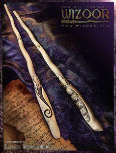 Resin Cast Zauberstab FRANCESCA inspiriert von Harry von WIZOOR