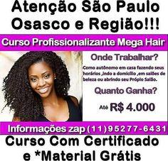 Alô São Paulo é amanhã! Curso de Mega Hair Completo . huruu . . #belezacompartilhada