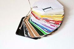 100 Geschenkanhänger Vintage Regenbogen von bär von pappe auf DaWanda.com