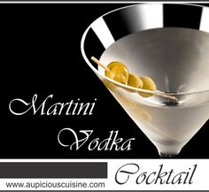 A timeless Vodka Martini Cocktail is a classic cocktail perfect for a party. It is a combination of vodka and vermouth.