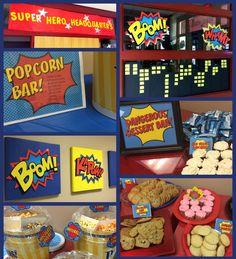 Super Hero Staff (Teacher) Appreciation week was a success! Employee Appreciation Gifts, Volunteer Appreciation, Teacher Appreciation Week, Teacher Gifts, Teacher Appreciation Breakfast, Teacher Party, Staff Gifts, Superhero Teacher, Superhero Classroom