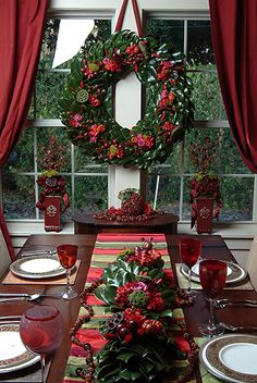 """Decorating for the Holiday"" Tablescape"