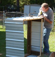 How to build a corrugated steel raised planting bed