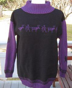 Genser m/helleristningsmotiver i str.S - dinbod. Sweaters, Fashion, Moda, Fashion Styles, Sweater, Fashion Illustrations, Sweatshirts, Pullover Sweaters, Pullover
