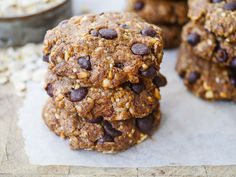 Peanut Butter Oat Chocolate Chip Cookies by Nourish Every Day - Sweeter Life Club