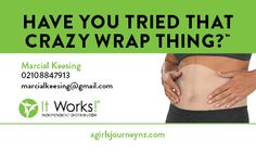 Crazy Wrap Thing One-Sided Business Card