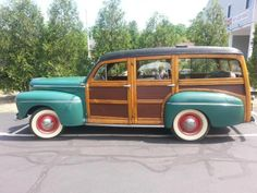 Ford : Other Wagon Woody Wagon, Car Ford, Station Wagon, Old Cars, Big Boys, Mobiles, Dream Cars, 4x4, Antique Cars