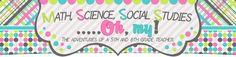 Math, Science, Social Studies......Oh, my!: 5th/6th grade blog
