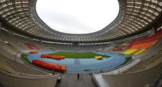 FIFA President 'Impressed' by 2018 World Cup Opening Venue in Moscow / Sputnik International Renovation of Luzhniki stadium for 2018 football World Cup World Cup 2014, Fifa World Cup, Russia World Cup, Latest World News, Presidents, Mac, Football, Archive, Sport