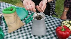Enki Stove Wild: Cook everywhere using any kind of biomass