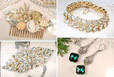 Vintage Jewels from Amore Treasure   See more on www.onefabday.com