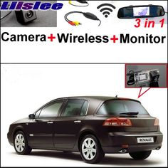 Liislee For Renault Vel Satis X73 3 in1 Special Rear View Camera + Wireless Receiver + Mirror Monitor Easy Back Parking System #Affiliate