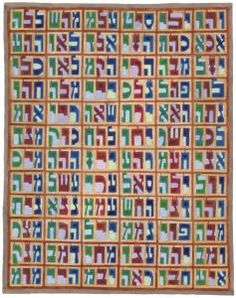 Kabbalah art by artist David Friedman, Safed Israel  One of the most complex meditative techniques of the Kabbalah uses the 72 three-letter Names of God that can be seen in this picture.  These 216 letters (72 x 3 = 216) actually comprise one Name.