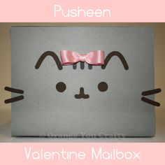 Orange You Crafty - Pusheen Valentine Mailbox main
