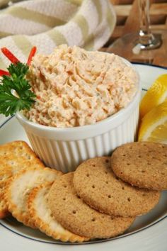 A cool and refreshing shrimp dip that is fast and easy to prepare, perfect for summer cook-outs and picnics!