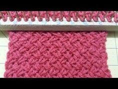Loom Knitting For Beginners, Knitting Videos, Crochet Videos, Loom Knitting Stitches, Loom Knitting Projects, Loom Crochet, Chunky Crochet, Loom Patterns, Crochet Patterns